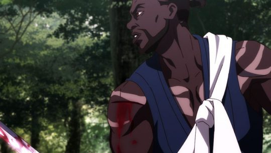 Anime Yasuke mixes African history with fantasy thrills