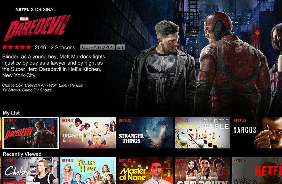 การให้คะแนนของ Netflix
